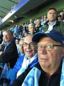 SM6CTQ på fotboll Malmö Stadion 25 augusti 2015