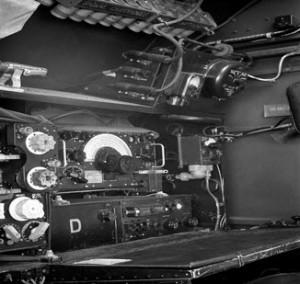 Marconi mottagare R1150 i AVRO Lancaster 1942
