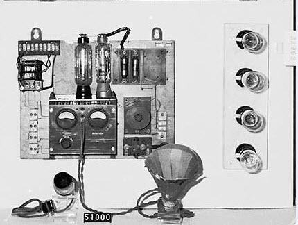 Detalj modulator och miktofon
