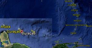 Curacao Källa Google Earth