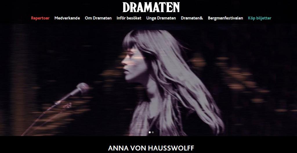 Anna von Hausswolf.