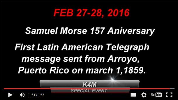 Samuel Morse 157 aniversary 2016