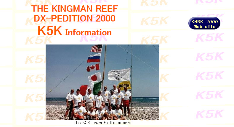 KH5K Kingman Reef 2000