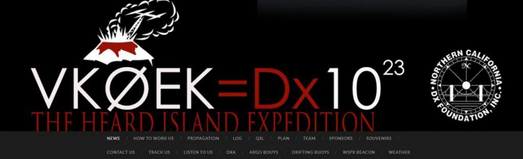 VK0EK web logo