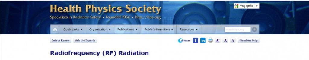 Health Physics Society