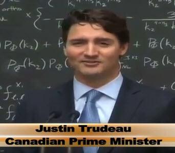 Justin Trudeau om kvantdatorer april 2016