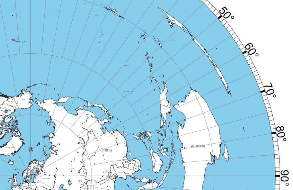 Storcirkelkarta Merlänna JO89MG