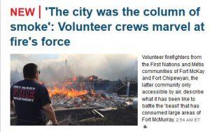 Klipp ut CBC Edmonton headlines