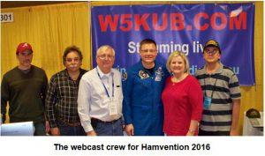 W5KUB webcast crew 2016