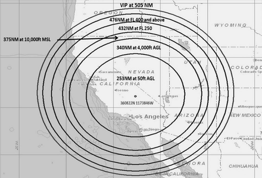 Karta - Område för GPS-släckning