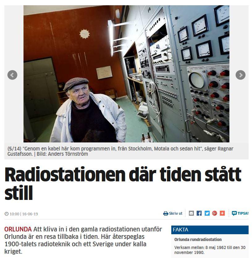 Orlunda - Motala Vadstena Tidning 19 juni n2016