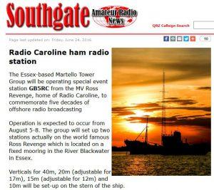 Radio Caoline ham radio station
