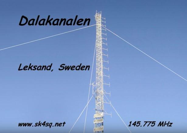 Från videofilmen om Leksands repeaqterprojekt 1997