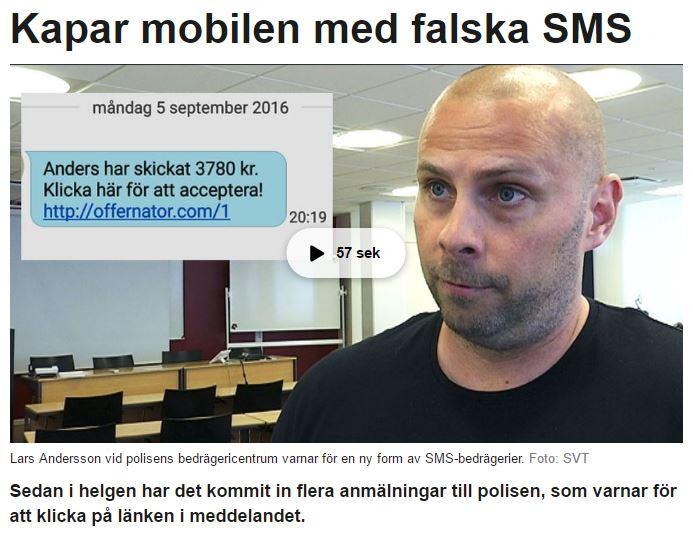 SVT Jämtland Skärmklipp