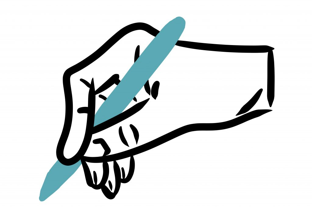 Umsetzung - Illustration Hand und Stift - handundstidt.de - Der Blog rund um Illustration in Serie