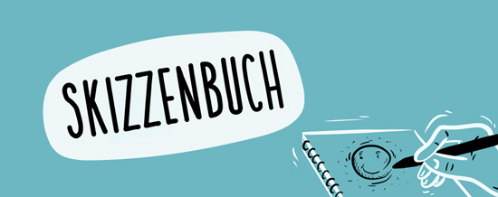 Seitennavigation Kategorie Skizzenbuch | handundstift.de | Der Blog zum Thema Illustration in Serie