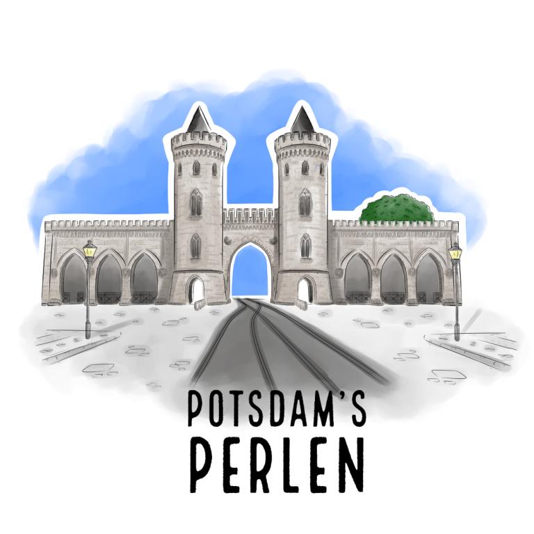 Teaserbild Nauener Tor Potsdam's Perlen Illustration handundstift.de - Der Blog rund um Illustration in Serie