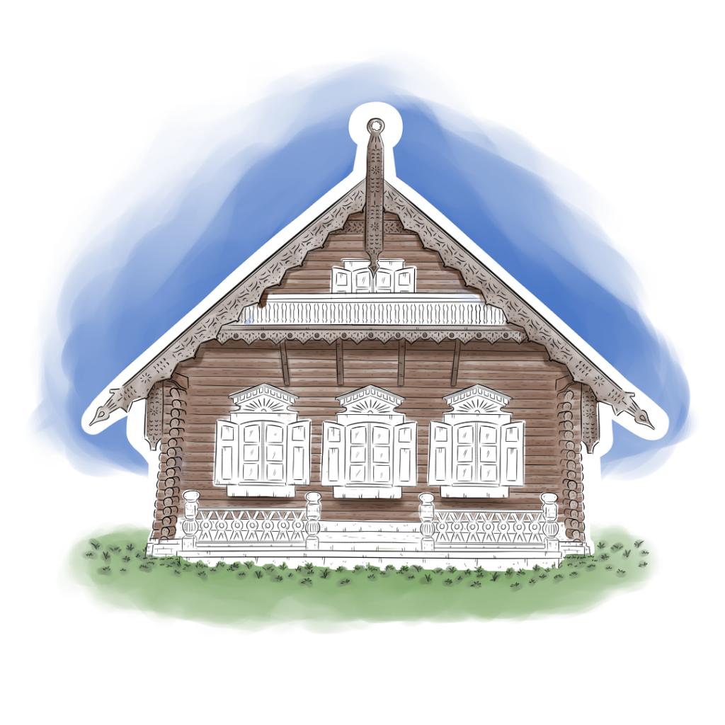 Beitragsbild Skizze Farbe Himmel Alexandrowka Potsdam handundstift.de - Der Blog rund um Illustration in Serie