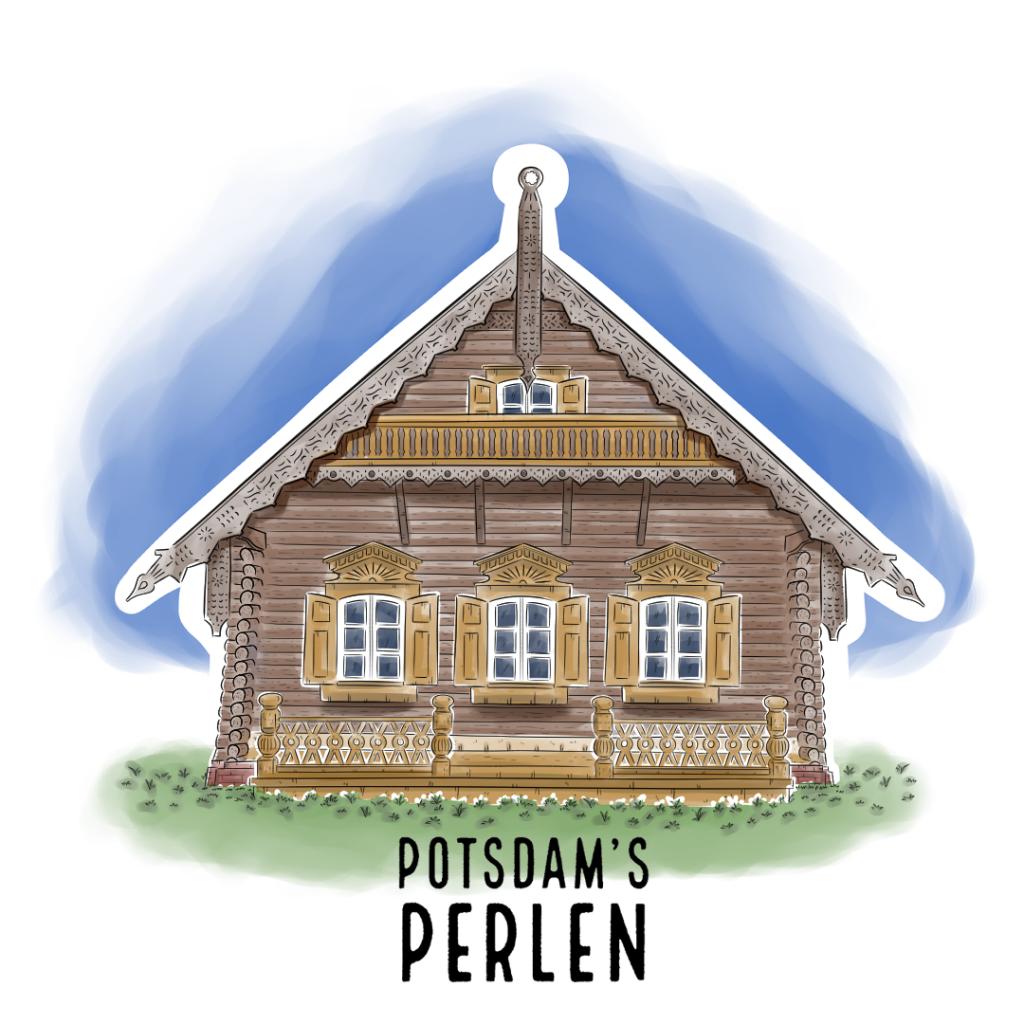 Teaserbild Alexandrowka Potsdam's Perlen Illustration handundstift.de - Der Blog rund um Illustration in Serie