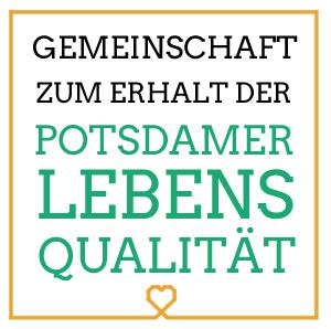 Logo für die Potsdamer Lebensqualität   Design: Marc Doebert, HAND UND STIFT