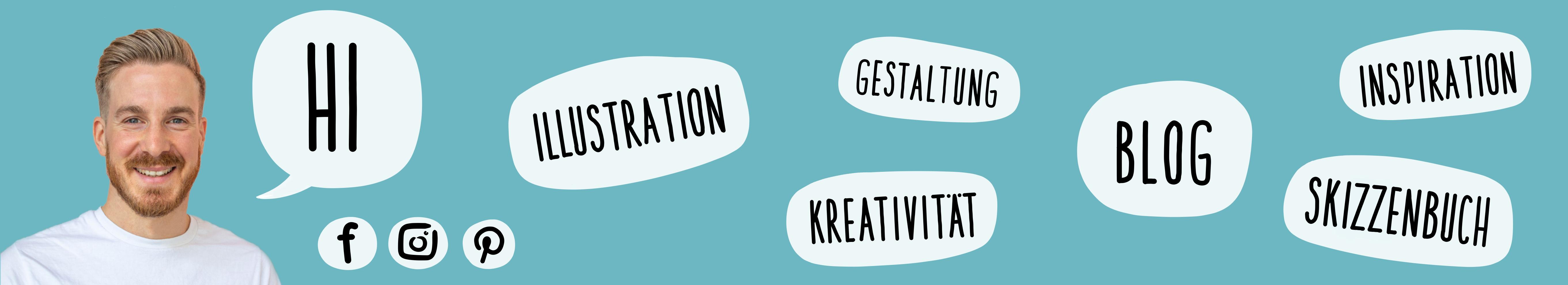 Headerbild Startseite | handundstift.de - Der kreative Blog rund um digitale Illustration aus Potsdam