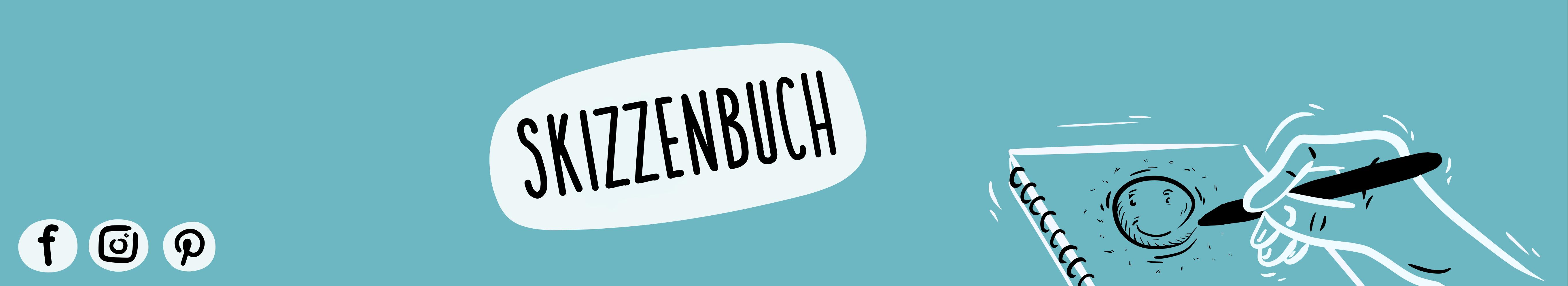 Headerbild Skizzenbuch | handundstift.de - Der kreative Blog rund um digitale Illustration aus Potsdam