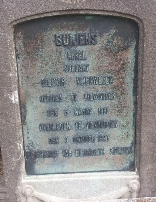 1841 Buijens Karel vliegwezen det.JPG|1841 Buijens Karel vliegwezen hij.JPG|1841 Rosvelds Buijens Karel vliegwezen alg.JPG