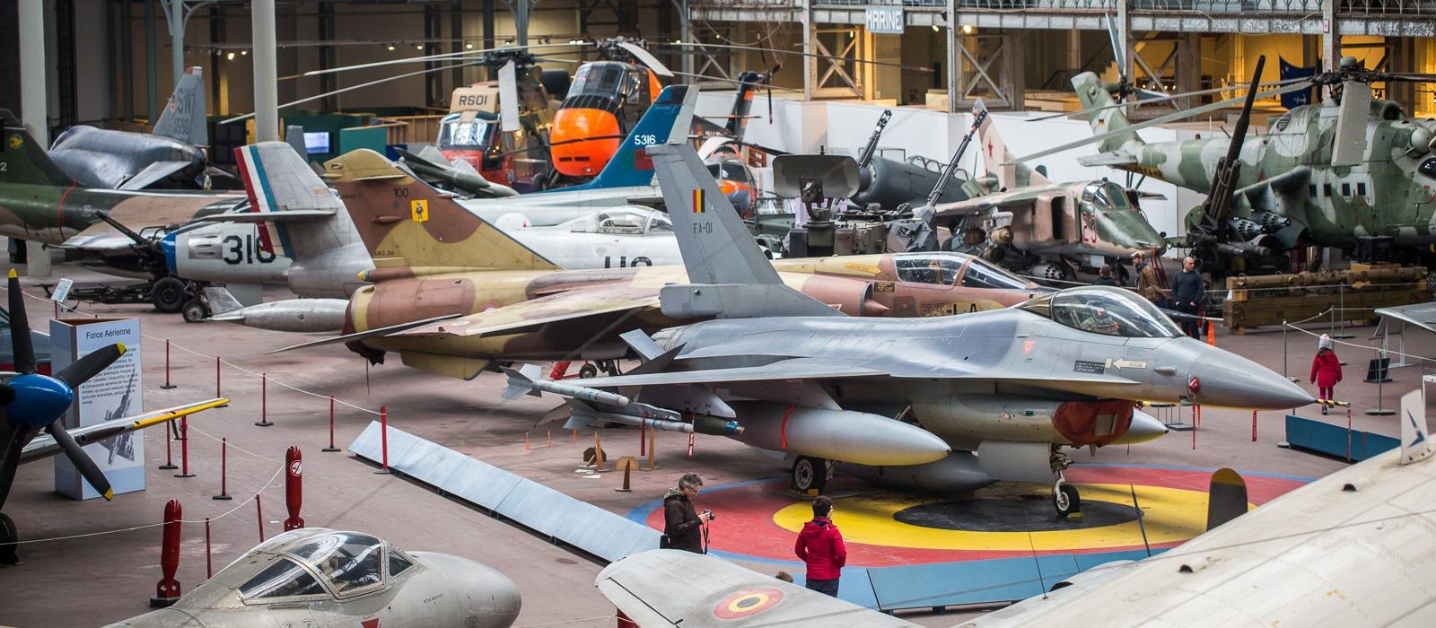 Luchtvaartmuseum Brussel.