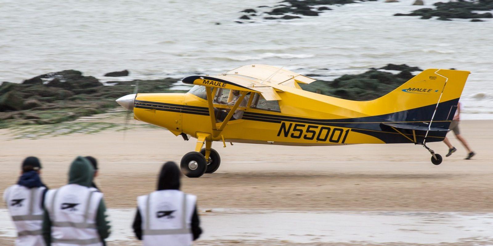 Het deelnemersveld is van 't jaar beperkt tot 30 vliegtuigen die meteen ook beter uitgerust moeten zijn voor het STOL-werk.  Short Take Off and Landing op het strand.