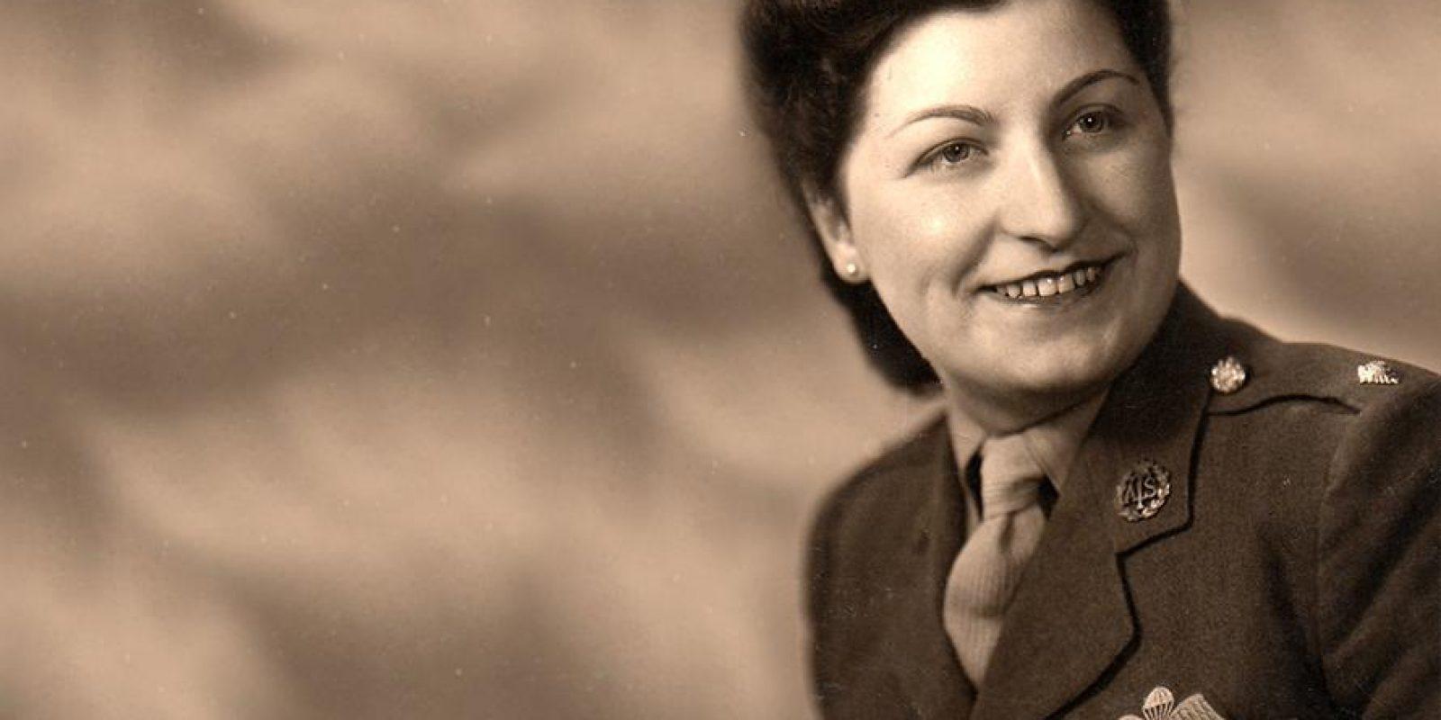 Henriette Hanotte (schuilnaam Monique) ontving de Amerikaanse Medal of Freedom. In 2015 werd in Rumes de herdenkingsroute 'Dans le pas de Monique' ingehuldigd. (Foto archief Sarah De Vlam)