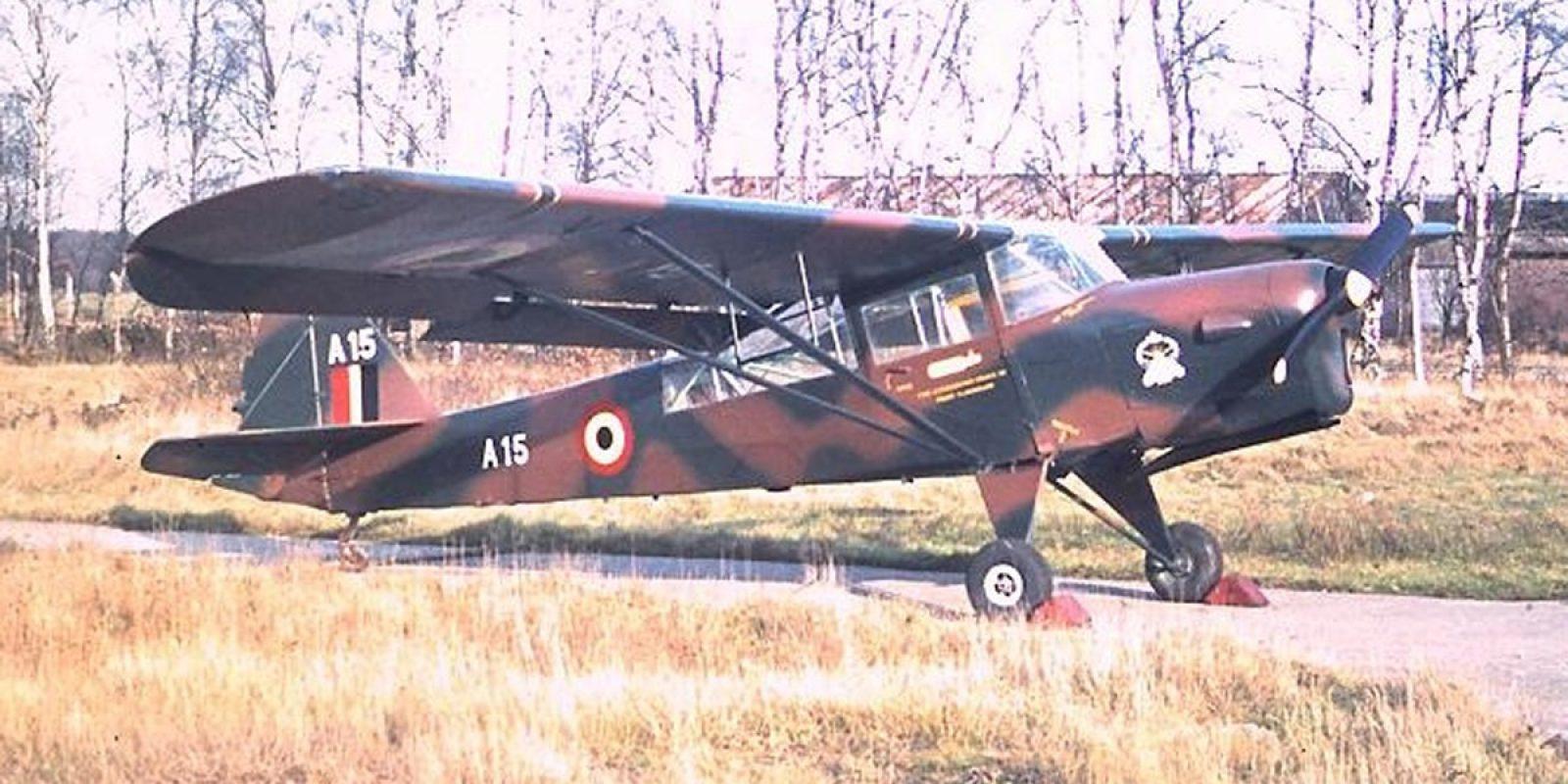 L'Auster A-15 récupéré au Musée de l'air en 1971 a été restauré par deux fanas doués de Brasschaat en 1972-1973. (René-Louis Haidon)