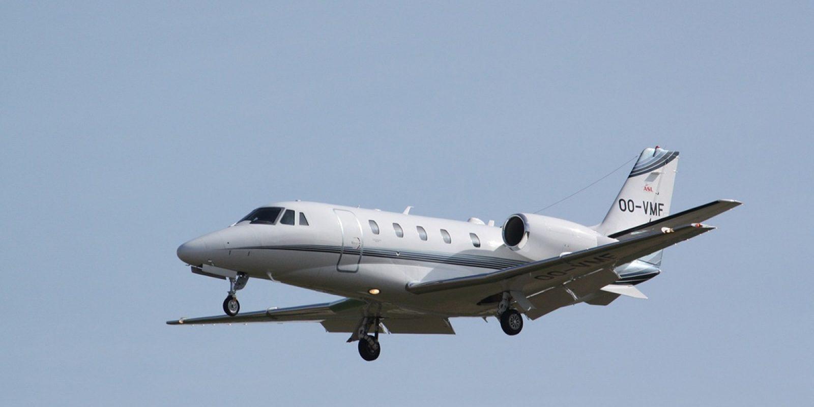 Le premier Cessna Citation XLS+ est introduit en 2011. Pas moins de cinq Citation XLS sont actuellement opérés par le groupe ASL, dont le OO-VMF (msn 560-6193). (Photo Guy Viselé)