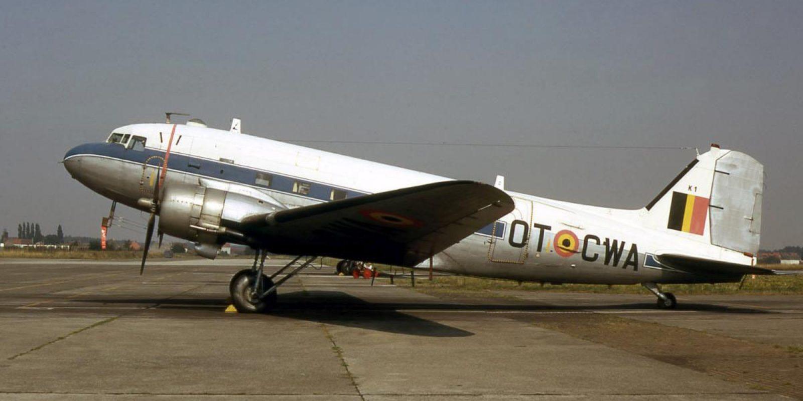 Le K1/OT-CWA de la 20ème escadrille du 15ème Wing de Transport en août 1973. (Photo Guy Viselé)