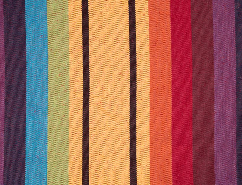 Amazonas hängmatta Barbados rainbow mönster