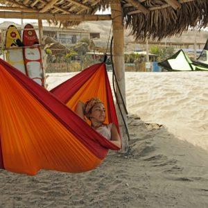 Amazonas Adventure hammock fire detalj