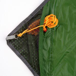 Amazonas Traveller tarp, detalj nätficka