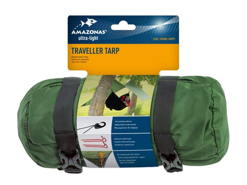 Amazonas Traveller tarp, förpackning