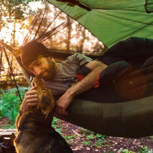Amazonas Moskito Traveller hammock thermo, detalj