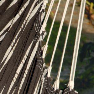Amazonas hängstol Brasil mocca upphängningssnöre