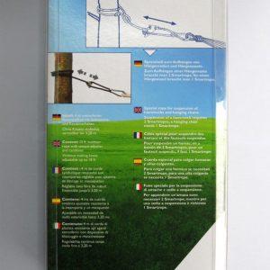 Amazonas Smartrope vit - för hängmattor och hängstolar förpackning