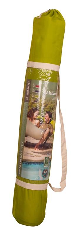 La Siesta Alabama avocado - vadderad kingsize hängmatta förvaringspåse