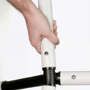 La Siesta hängmatteställning Nautico Cool Grey - klicksystem
