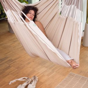 La Siesta Habana Lounger nougat - plats för dina ben