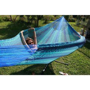 Macamex Mexicana caribe Matrimonial - stor näthängmatta för två
