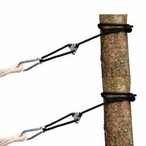 Amazonas Smartrope svart för hängmattor