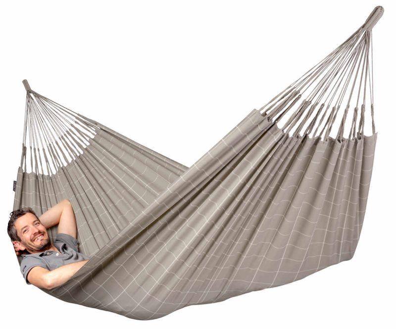 La Siesta Brisa Almond - vädertålig hängmatta
