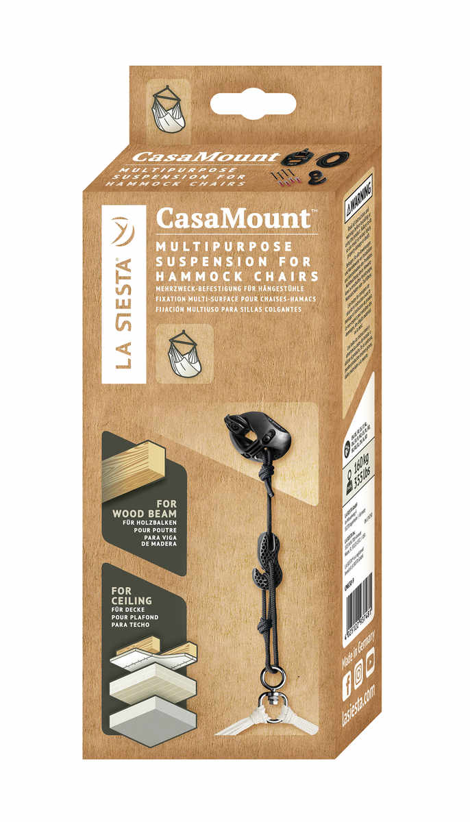 LA SIESTA CasaMount för hängstolar - förpackning