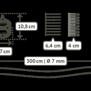LA SIESTA CasaMount för hängmattor - detaljer