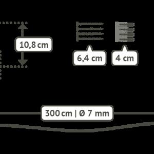 LA SIESTA CasaMount för hängstolar - detaljer