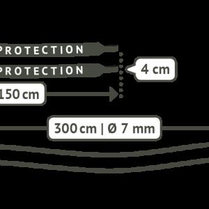 LA SIESTA TreeMount för hängstolar - detalj